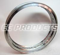 18x2,15 CWC Polerad Aluminium TS Fälg 40 Hål