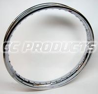 19x1,85 English Chrome Rim 36 Hole