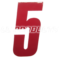 Numbers 14 cm
