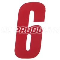 Numbers 11 cm