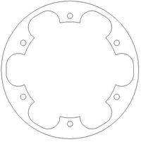 Brake Disc inner ring front