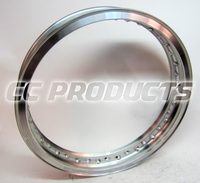 18x2,50 CWC Polerad Aluminium TS Fälg 40H