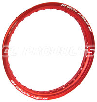19x2,15 Red SM Pro Platinum Rim 36 Hole