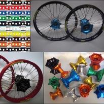 16,5x3,50 CRF 250X/450X 04- Framhjul