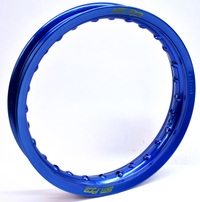 12x1,60 SM Pro Blå Fälg 28 Hål   Mörkblå