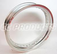 17x3,50 SM Pro Silver Fälg 36 Hål