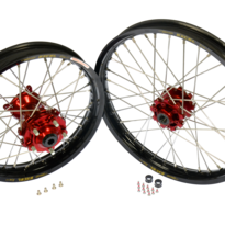 21x2,15 CRF 1000 Africa Twin 16- Front Wheel (Anodized hub)